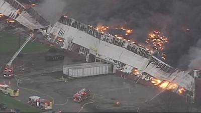 Fire destroys General Electric centre in Kentucky