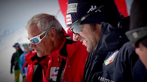 سيمون أوريغون أسرع متزلج في العالم....252.632 كلم / سا