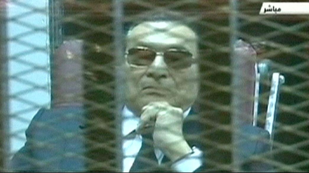 Egito: Começou segundo julgamento de Mubarak