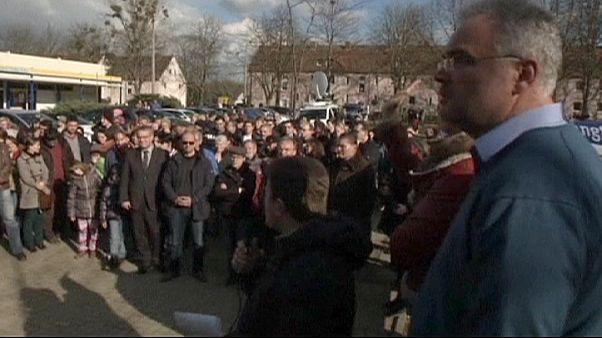 Almanya'da sığınmacıların kaldığı bina kundaklandı