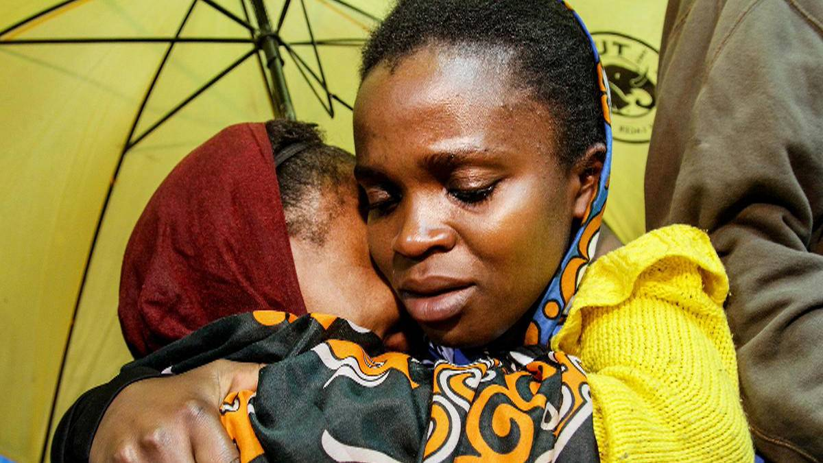 Mourning in Kenya
