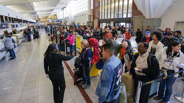 Image: Power outage at Hartsfield-Jackson Atlanta International Airport in