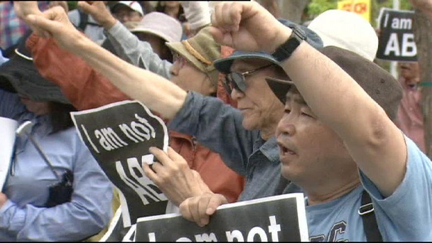 Япония: центральные власти и префектура Окинавы не могут договориться о переносе военной базы США