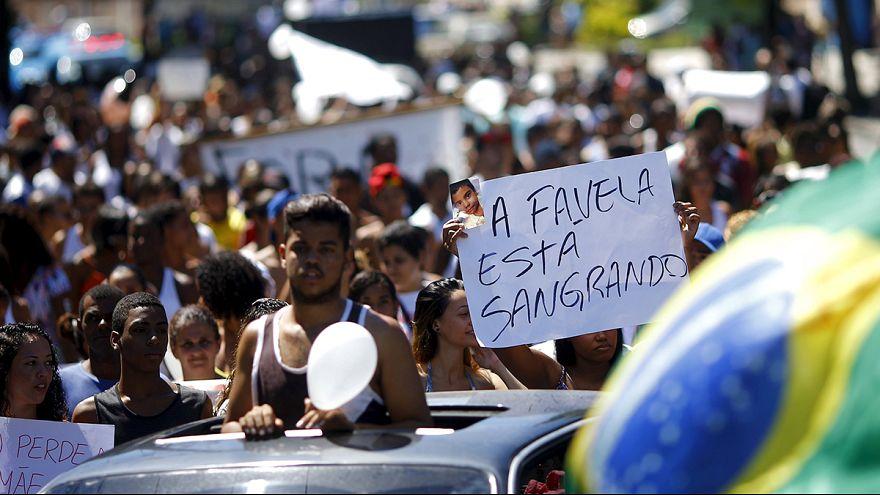 Nach Tod von Zehnjährigem: Favela-Bewohner protestieren erneut gegen Polizeigewalt