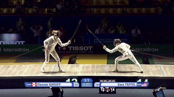 Sara Taffel clinches gold in fencing championships in Tashkent