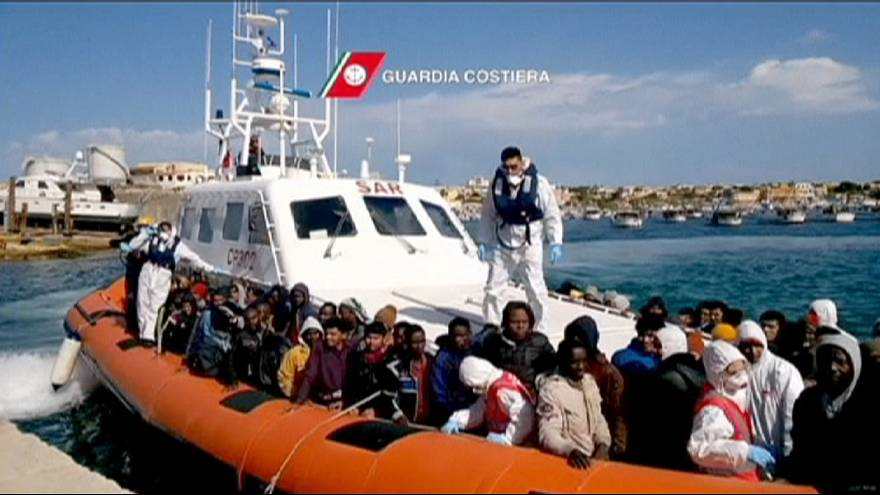 Guardia Costiera Italiana salva 1.500 migranti