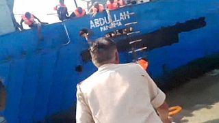 Jemeni hajótörötteket mentett az indiai partiőrség