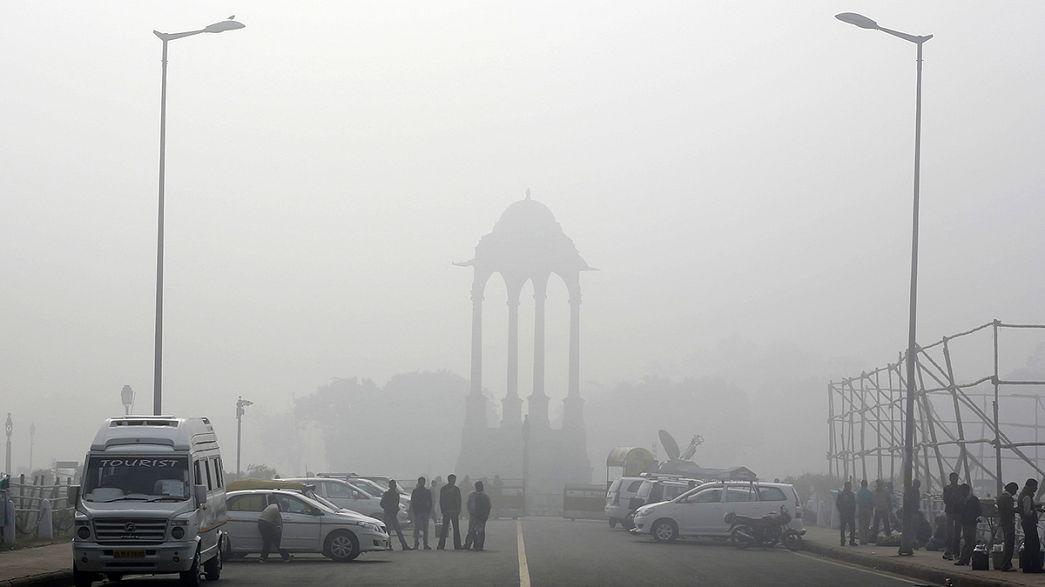 Kampány a tisztább levegőért Indiában