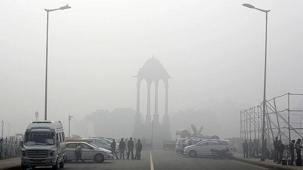 Индия: контроль уровня загрязнения воздуха