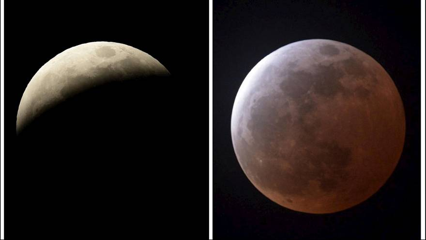 First total lunar eclipse of 2015 – Video