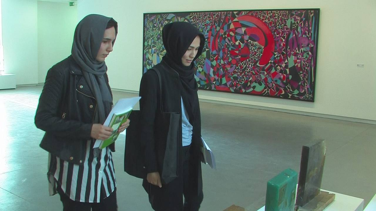 Lesser known United Arab emirate hosts major contemporary art biennial