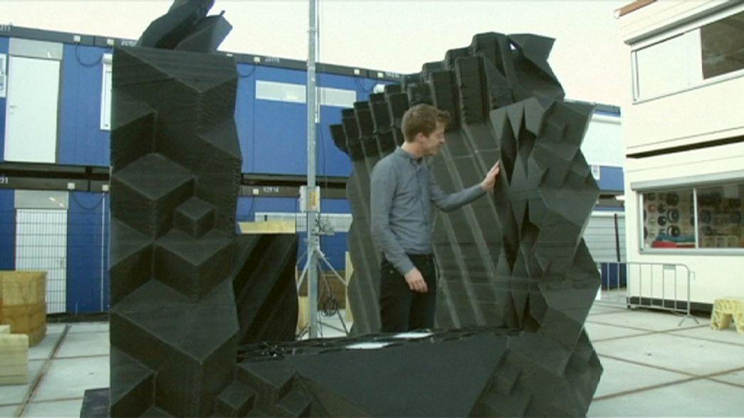 Une maison 3D à Amsterdam