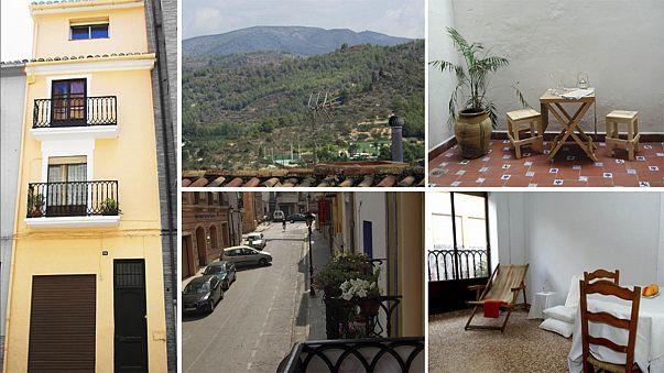 Kisorsolta házát a spanyol család