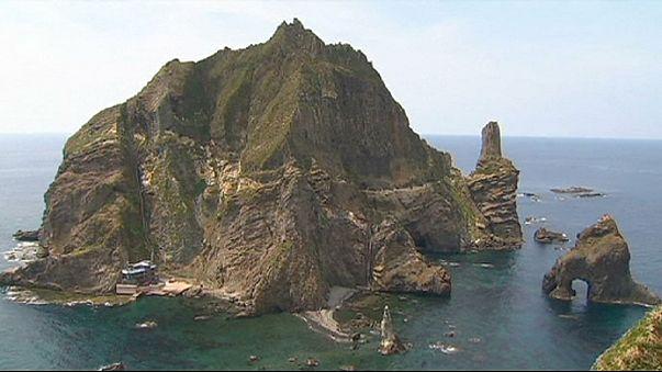 Területi vita Japán és Dél-Korea között