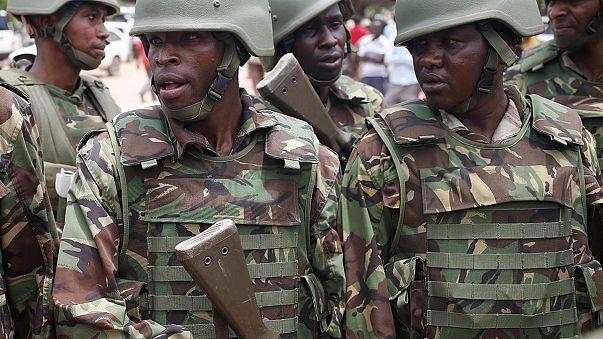 Az al-Shabaab szomáliai táborát bombázta a kenyai légierő