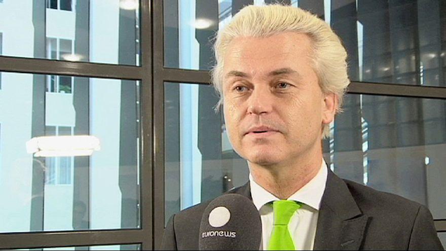 A holland szélsőjobb vezetője is részt vesz a Pegida tüntetésén