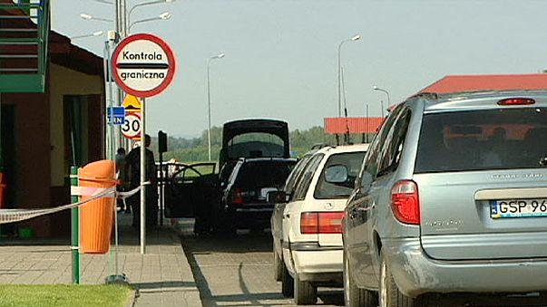 Torri di osservazione al confine tra Polonia e Kaliningrad