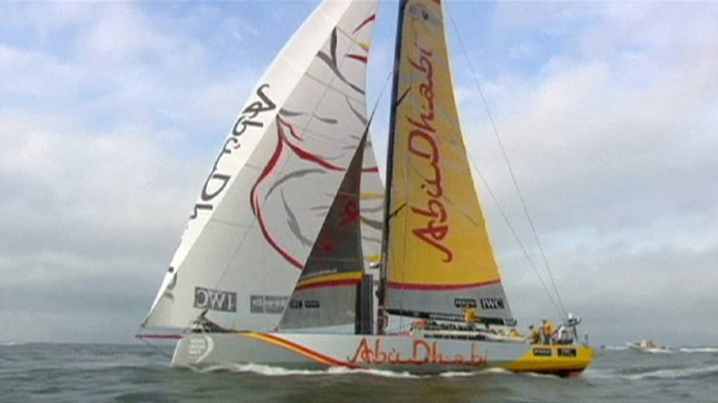 Volvo Ocean Race: Abu Dhabi sail to leg five victory