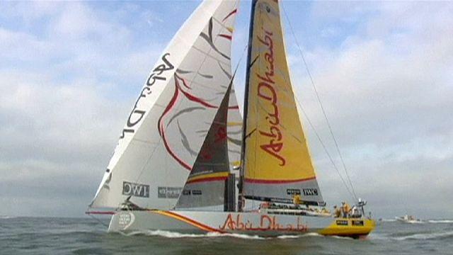 """""""Абу-Даби"""" выиграл пятый этап Volvo Ocean Race"""