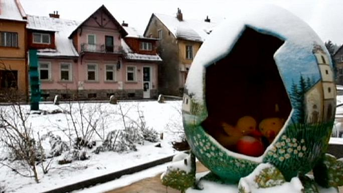 Unusual weather brings white Easter to Croatia