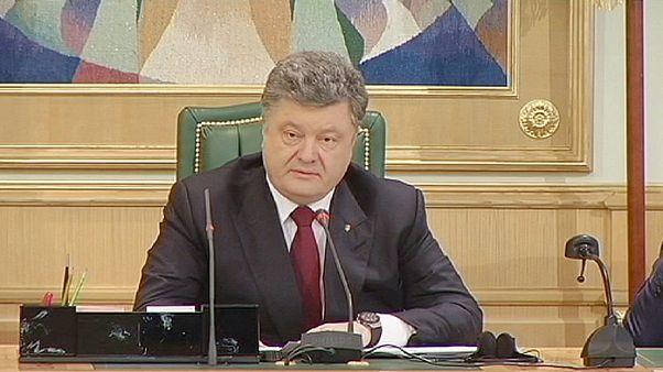 Poroshenko rechaza que Ucrania se convierta en un Estado federal