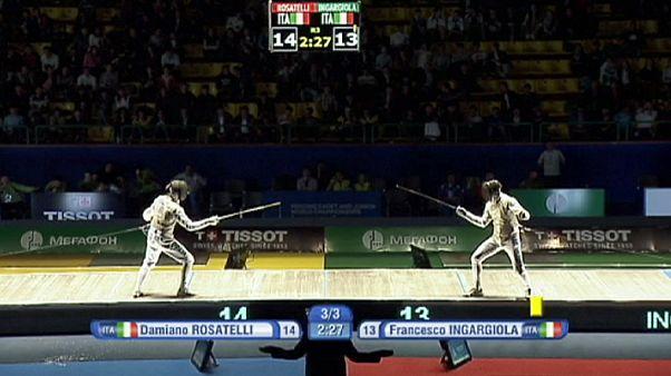 Fencing: Juniors Queroli and Rosatelli strike gold in Tashkent