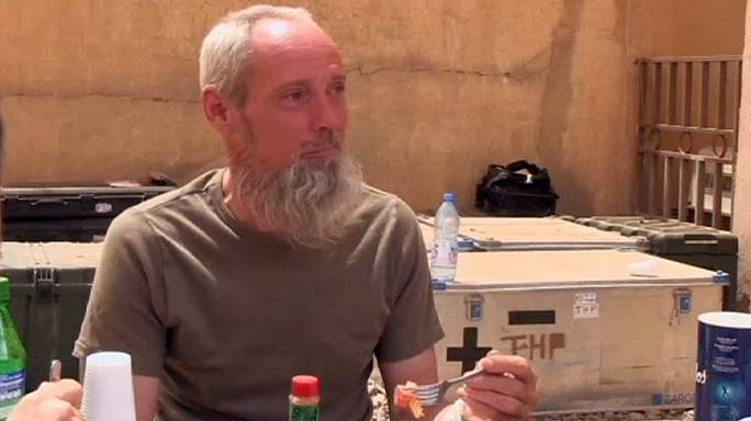 French forces rescue Dutch hostage Sjaak Rijke in Mali