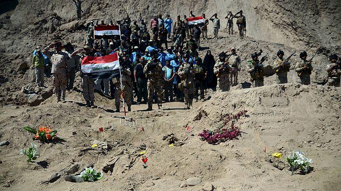 ISIS: tömegsírokat tárnak fel az iraki hatóságok Tikritnél