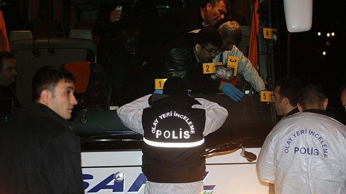 Fenerbahçe otobüsüne saldırıyla ilgili iki kişi yakalandı