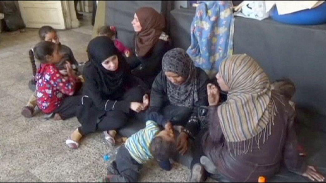 Naciones Unidas exige que se autorice la entrada de ayuda humanitaria al campo de Yarmuk