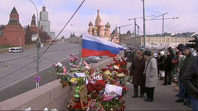 Homenaje a Nemtsov cuando se cumplen 40 días de su muerte