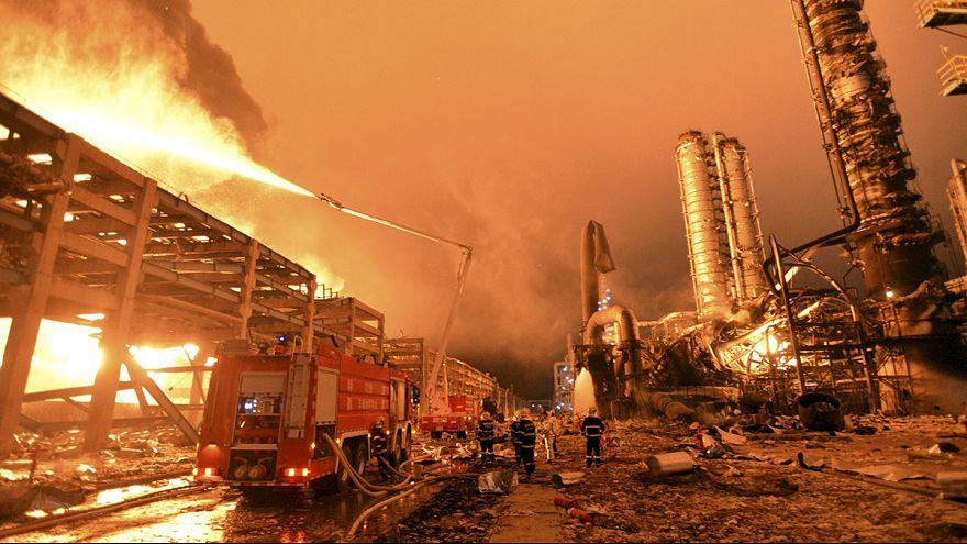 Zahlreiche Verletzte durch Explosion einer Chemiefabrik in China
