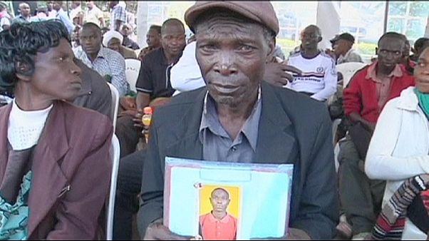 Garissa katliamının kurbanları yakınları tarafından tespit ediliyor