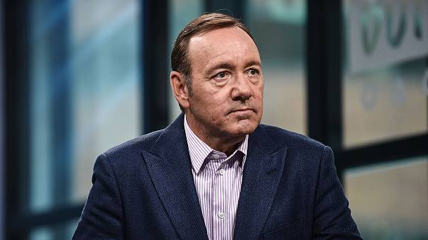 """Image: Kevin Spacey attends the Build Series to discuss his new play """"Clare"""