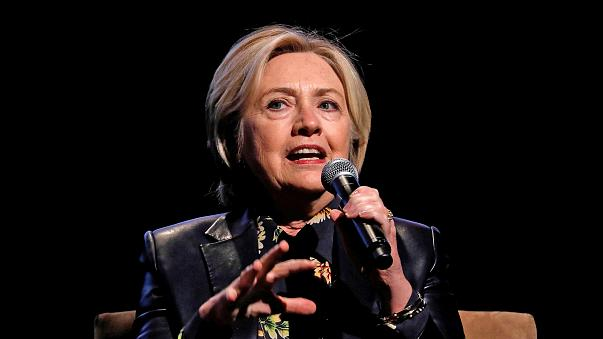 Image: Former U.S. Secretary of State and 2016 Democratic presidential nomi