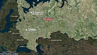 Incendio de un submarino nuclear ruso en unos astilleros