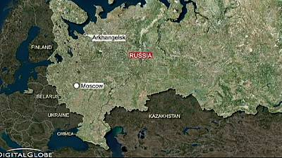 Russian nuclear submarine catches fire while undergoing repairs