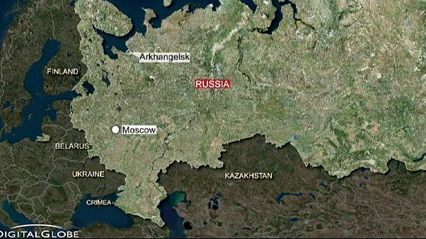 Russisches Atom-U-Boot fängt Feuer
