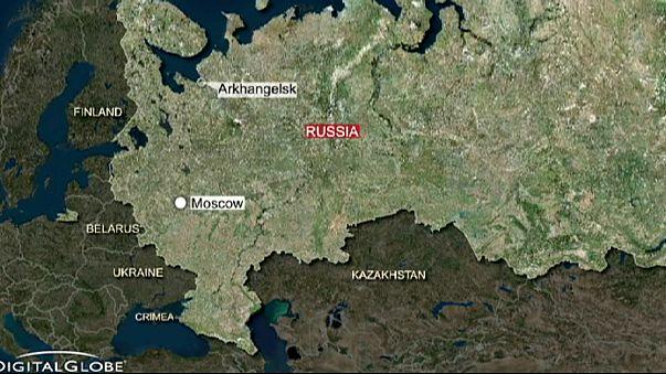 حريق في غواصة روسية