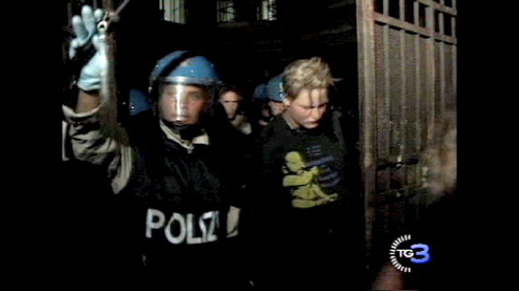 L'Italie condamnée pour les violences policières de 2001
