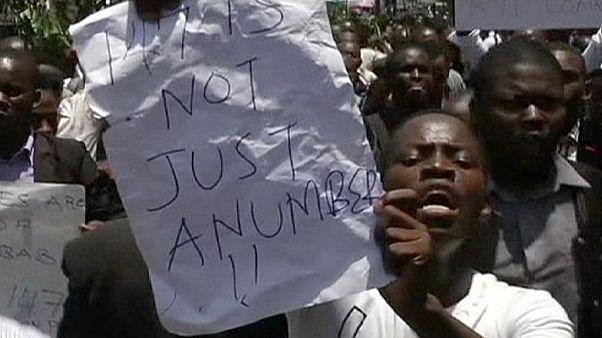 Hundreds protest in Kenya against Al-Shabaab