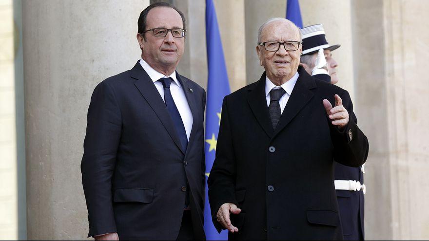 الرئيس التونسي في فرنسا لتعميق التعاون الأمني والاقتصادي بين البلدين