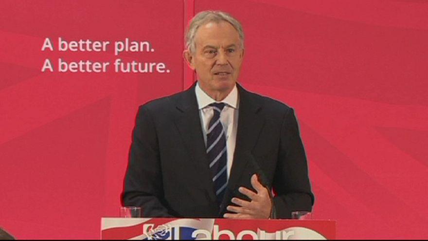 "Blair sfida Cameron: ""Sì a Miliband, no al referendum sull'Europa"""