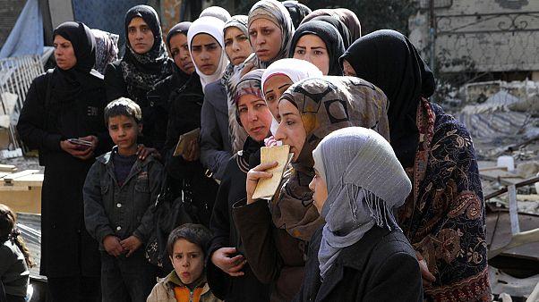 Le camp de Yarmouk piégé entre l'État islamique et l'armée syrienne