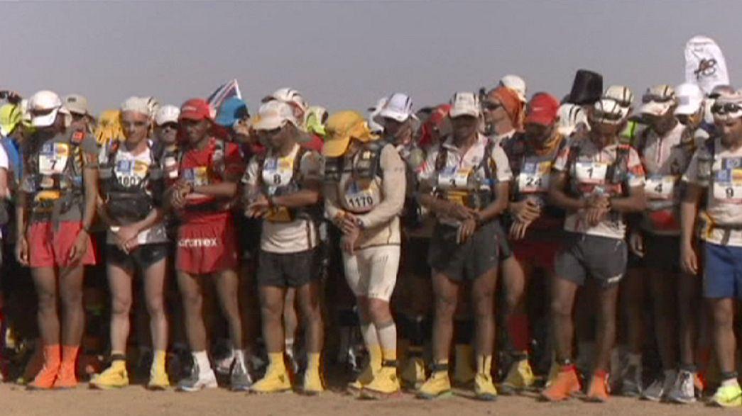 Marathon des sables : carton plein d'El Morabity et de Barnes