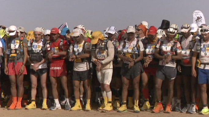 Féltávnál a sivatagi futók