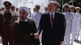 Rencontre Erdogan-Rohani à Téhéran sur fond de conflit au Yemen