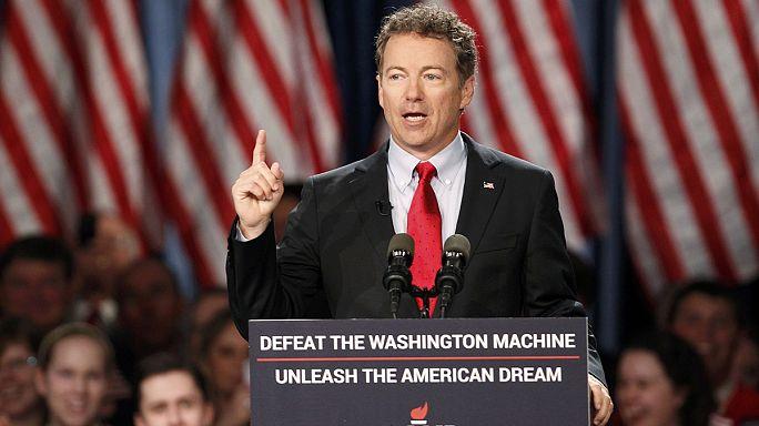 Cumhuriyetçi senatör Rand Paul 2016 başkanlık seçimi için yarışacak