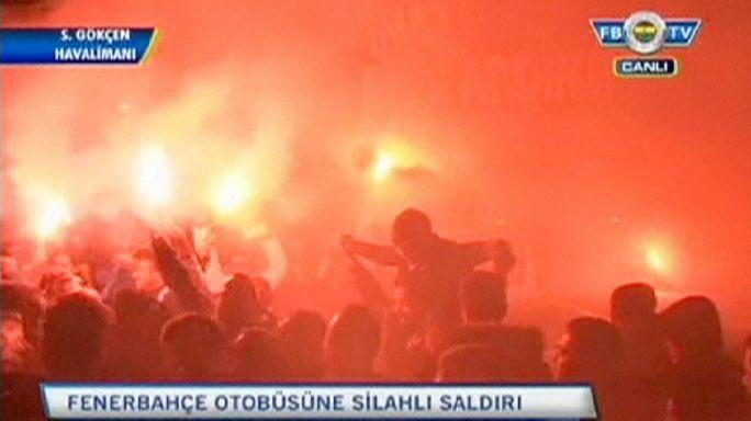 Két gyanúsított a Fenerbahce elleni fegyveres támadás ügyében
