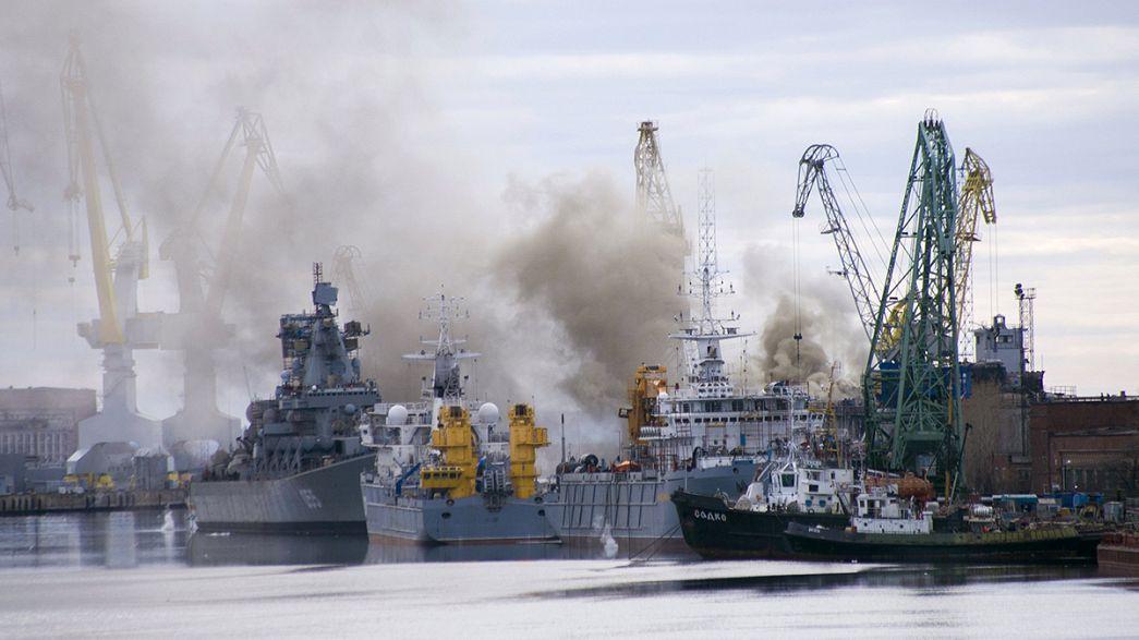 """Russland: Brand auf Atom-U-Boot """"Orjol"""" gelöscht"""